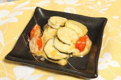 トマトとズッキーニのチーズ焼き  調理時間15~30分