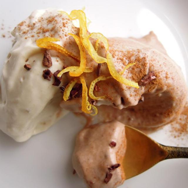 【ロースイーツレシピ】濃厚アイスクリーム