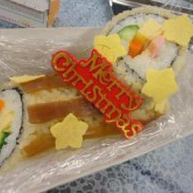 ☆新ペアーレ四日市でクリスマスの飾り巻き寿司教室!ブッシュドノエル寿司レッスン☆