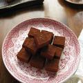 バレンタインに♪ 紅茶の生チョコ ブラックペパー風味