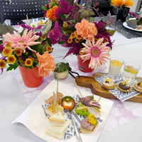 【参加レポ】花と料理で楽しむ♪ハッピーハロウィン講座