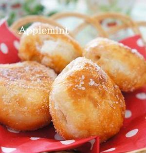 ◆卵不使用◆エンゼルクリーム風ドーナツ