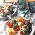【レシピ】野菜不足解消にも♪栄養満点まんまるグリーンオムライス♡ と 秋の音色。