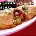 ボリューム満点!「キムチ×卵」で作るおかずレシピ「アボカドとキムチのオムレツ」