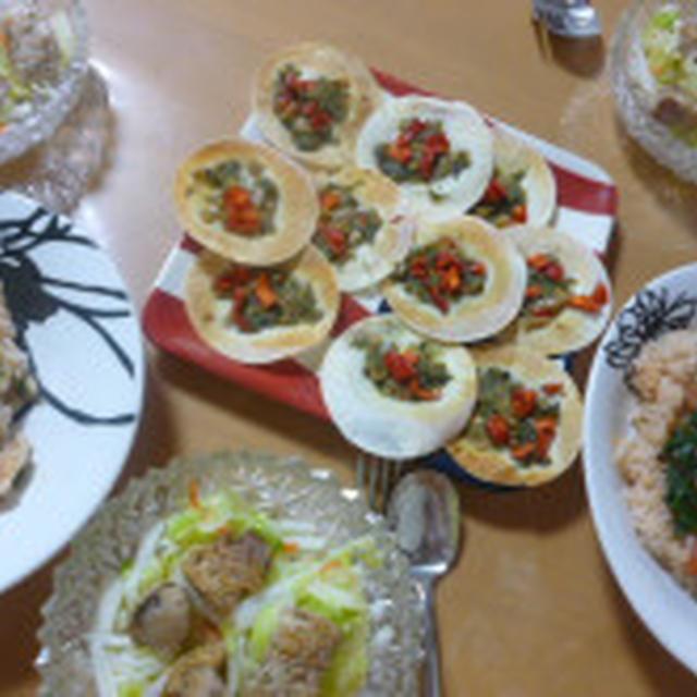 3種類のスパイス★で家バル風おつまみ夕食