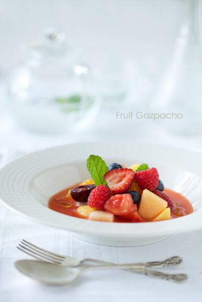 美肌デザート♪ フルーツのガスパチョ