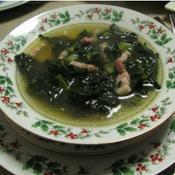 カーボロネロとパンチェッタのスープ
