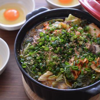 お鍋に入れるだけの晩ごはんと冷凍野菜で作り置き。