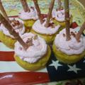 お豆腐の「もちもちカップケーキ」でポッキーの日 by ゆーれんママさん