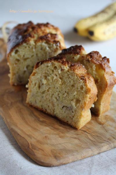 雑穀と完熟バナナの朝食パウンド