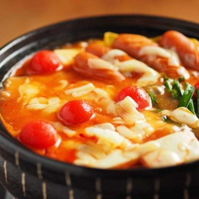 トマト湯豆腐