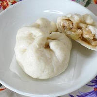 米粉のチキンマナプア