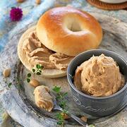 簡単ヘルシーバター不使用大豆バター!朝食に大活躍