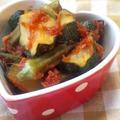 【レシピ】ズッキーニとオクラのケチャップ煮〜マクロビもOK。生姜入りで温まります♪