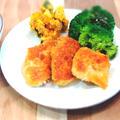 しっとり柔らか♡鶏むね肉でチキンカツ☆至福のアジフライ☆