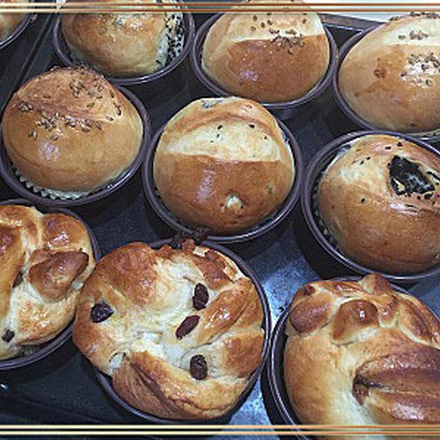 久しぶりのパン焼きと旅行のお土産はBaton dorsとGRAND Calbee