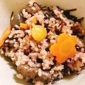 むかごと銀杏の炊き込みご飯(玄米)