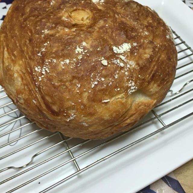 リスドォルで捏ねないパン