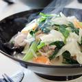 パラッと旨炒めペーストでたっぷりお野菜の長崎ちゃんぽんランチ。