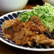 いつも、いつもの夕ご飯・生姜と黒大蒜