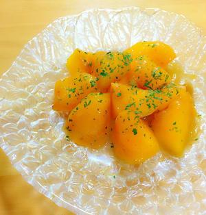 柿のバターソテー〜バルサミコソース和え〜