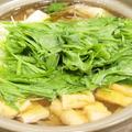 【お鍋】つくれぽ100件ありがとう!「水菜使い切り☆豚肉と大根のはりはり鍋」で晩ごはん。