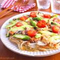 さばみそ煮と春野菜のじゃがいもピザ♪ニッスイレシピ