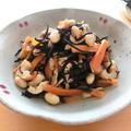 基本のひじきと大豆の煮物