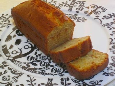 グルテンフリー(小麦なし)キャラメルパウンドケーキ