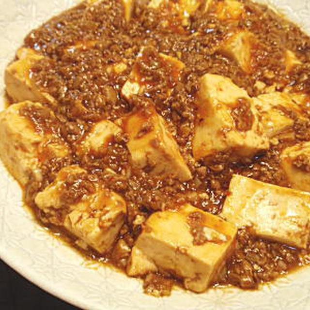 マグロで作る麻婆豆腐(レシピ付)