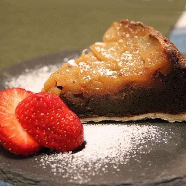 ★林檎と紅茶のケーキ