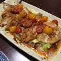 うちご飯 ~油淋鶏風ホットサラダ&大葉入り韓国海苔のふりかけ~