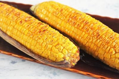 ■【醤油バター味の焼きトウモロコシが最高に美味しいです♪】皮付きがポイント!!