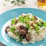 牛肉とクレソンのちらし寿司~水で変わる、毎日の料理~