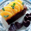 バレンタインケーキと「成城の食卓」の素敵なお料理~♡