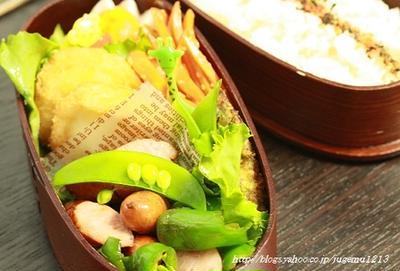 ウインナー生姜焼き弁当