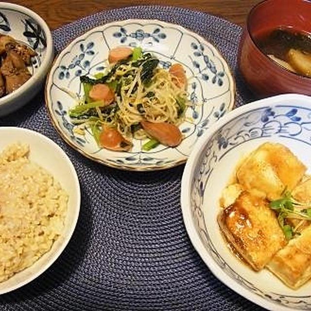 大人の味♪豆腐のワサビ醤油ステーキ&福島の71倍!?黄砂の放射能