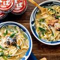 【サバ味噌煮缶で簡単】焼肉屋さん風スープ♪