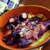 ウインナロール紫キャベツのチーズぺパー焼き