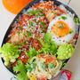 2月24日 月曜日 鶏手羽のトマトクリーム煮込み丼(かけトマレシピ)&スパゲティサラダ