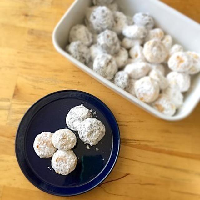 ☆太白胡麻油で作るスノーボールクッキー