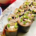 【豚肉の昆布巻き】お節料理(動画レシピ)/Rolled Kelp with pork.