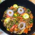 ラム肉でお野菜たっぷりのプルコギ♡