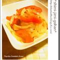 パプリカと玉ねぎのアチャール(インド風ピクルス)