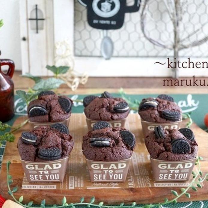 濃厚チョコカップケーキのレシピ。人気のアレンジ5選も必見♪の画像