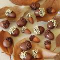 簡単かわいい♪ どんぐりチョコレートレシピ ♪ ハロウィンデコにも! by BiBiすみれさん