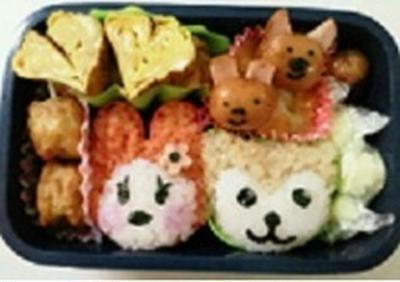 くまちゃんとうさぎちゃんおにぎり弁当!! ノルディック 飾り巻き寿司レッスン5月