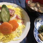 約束の木の下で&節約ひな祭りチラシ寿司