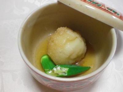 豆腐まんじゅうのあんかけ