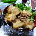 スターアニス(八角茴香)の香りが◎葱と葱で煮込んだトロトロ豚の角煮丼のお弁当♪
